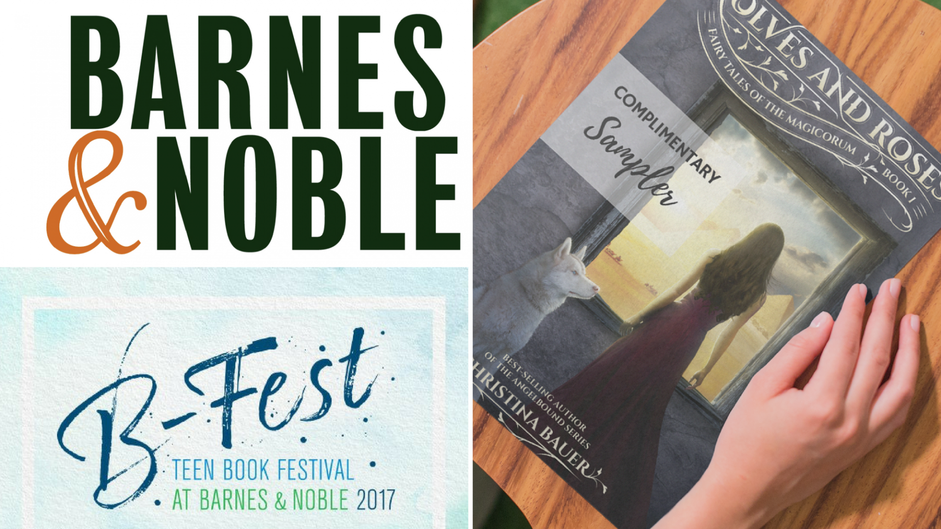2017 Tour: B&N B-Fest Boston