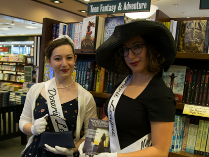 2017 Tour: Blanche, Madame, and Barnes & Noble