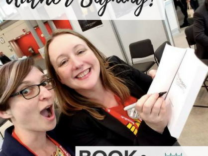 Signing at BookExpo and BookCon!
