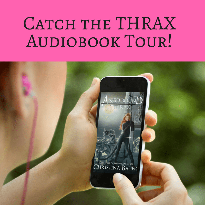The THRAX Audiobook Launch Tour is Here!