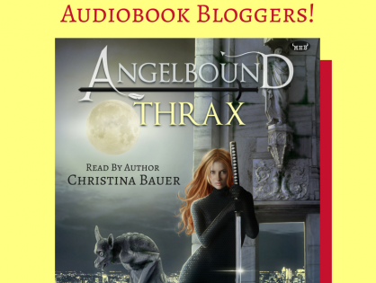 THRAX Audiobook Tour - Meet The Bloggers