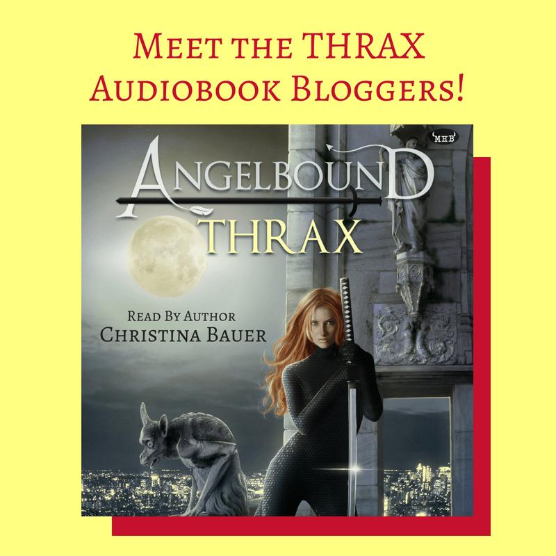 THRAX Audiobook Tour - Meet The Bloggers