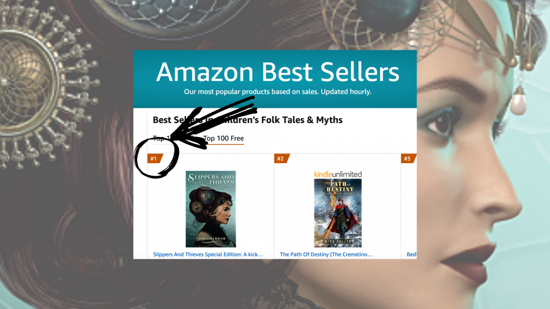 Press Release: SLIPPERS AND THIEVES Achieves #1 Ranking on Amazon