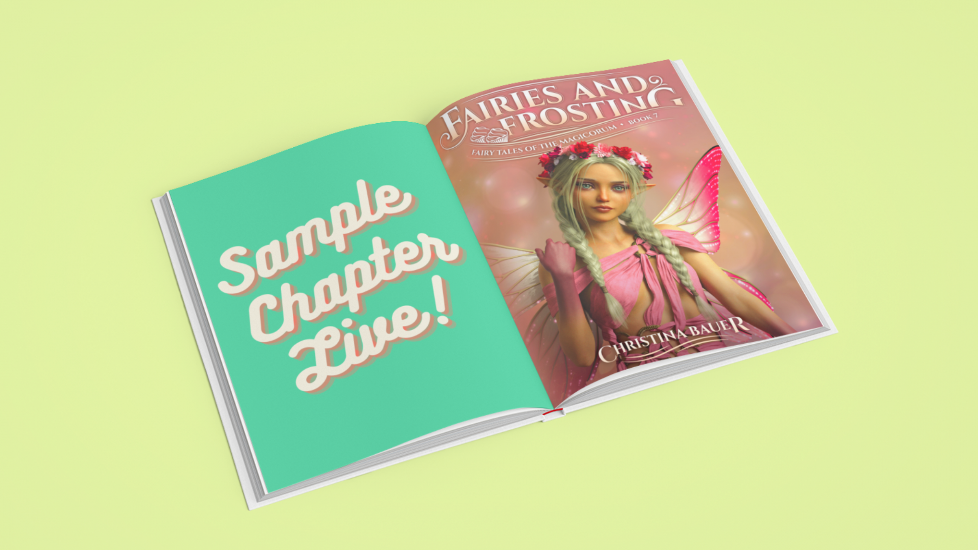 Check Out Ch 1 of FAIRIES AND FROSTING!