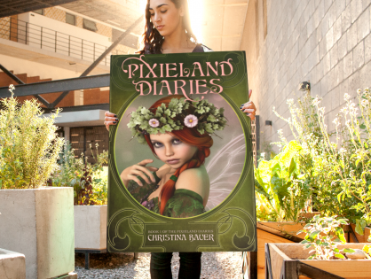 Cover Reveal: PIXIELAND DIARIES