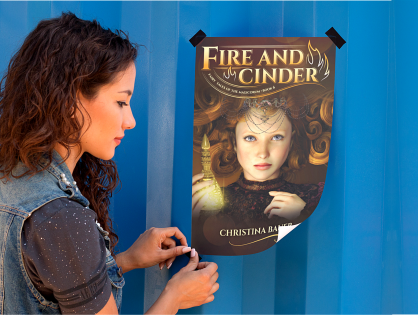 Happy Book Birthday, FIRE AND CINDER!